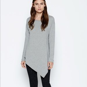 Soft Joie Asymmetrical Sweatshirt - Gray